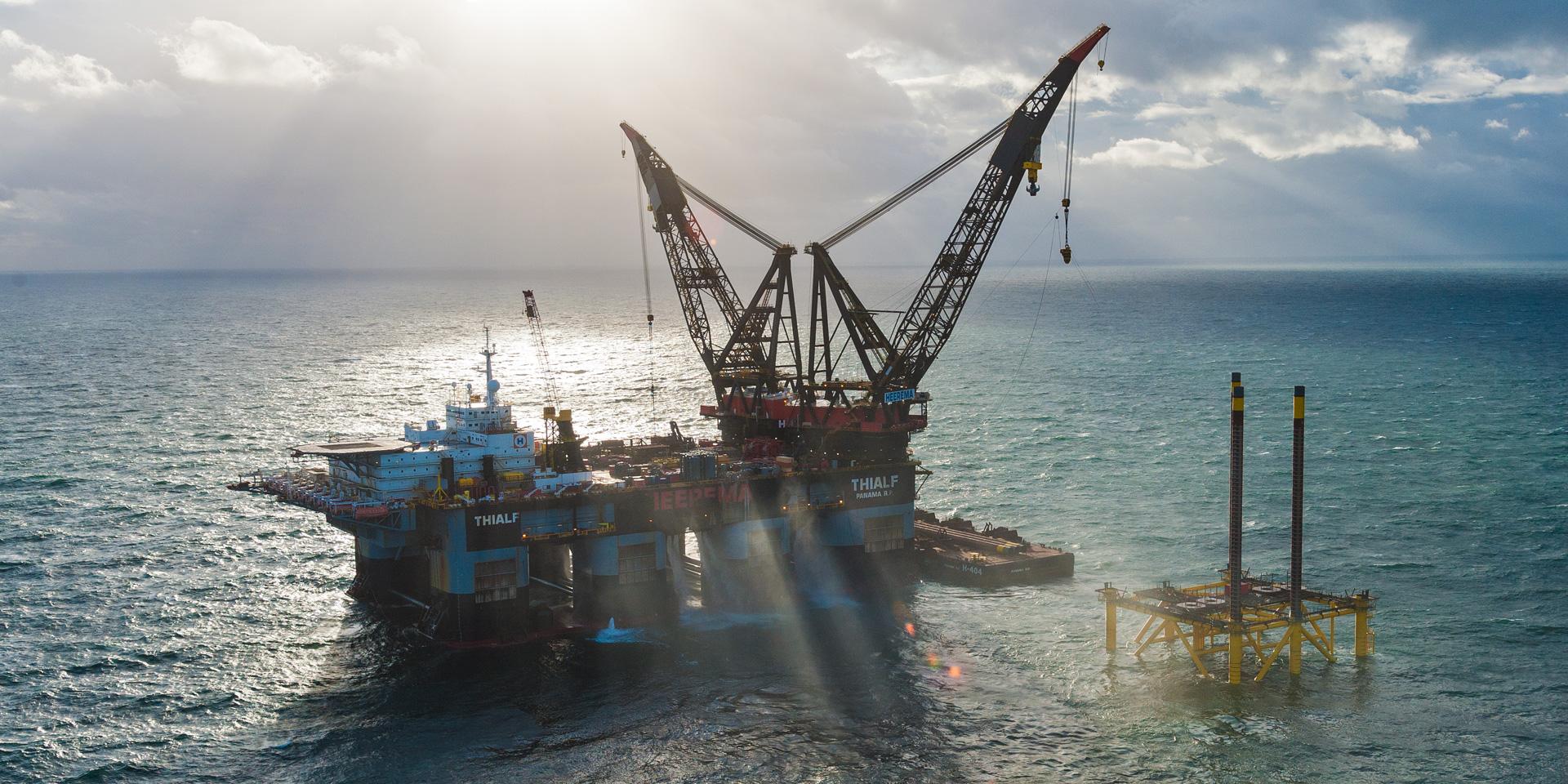 Offshore Aufnahmen in der Nordsee und Ostsee