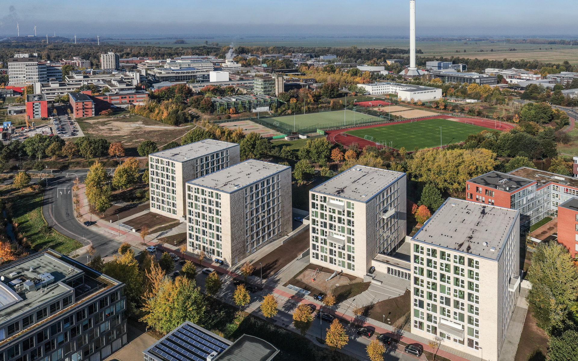Luftfotografie öffentlicher Einrichtungen